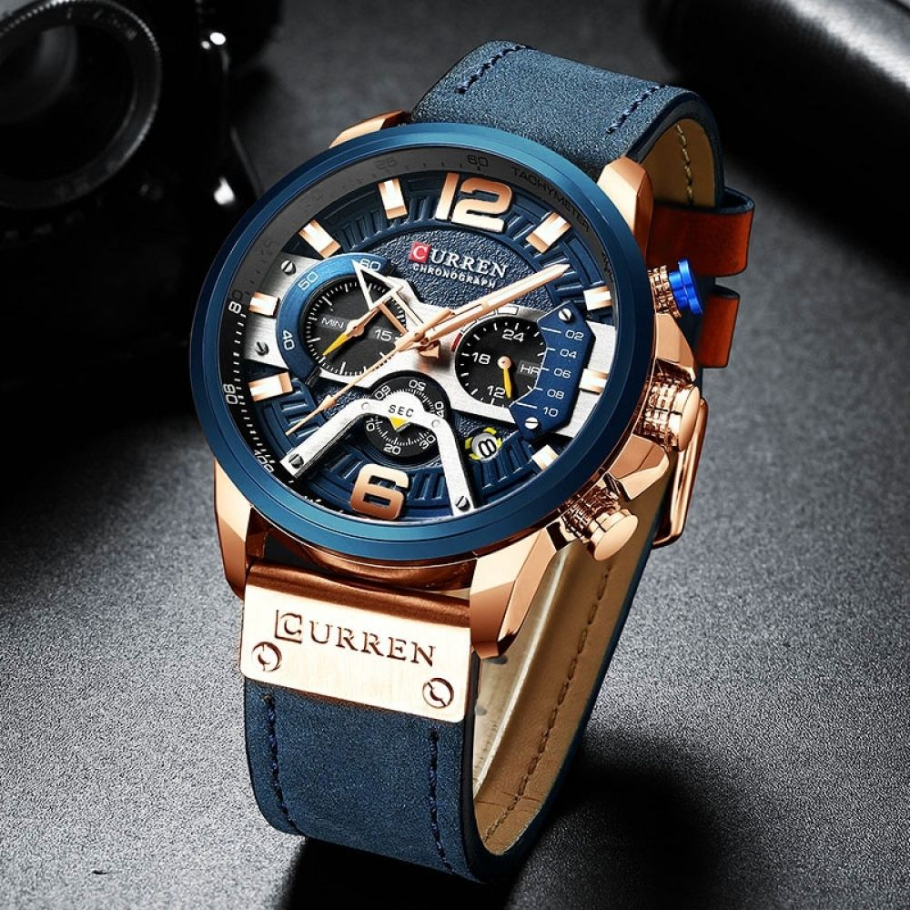 Luxury Chronograph Sport Watch In 2020 Luxury Watches For Men Mens Watches Leather Mens Casual Watches