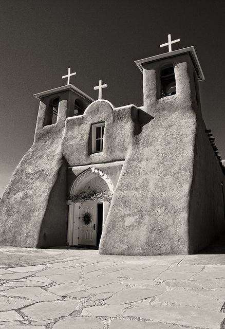 San francisco de asis in ranchos de taos nm new mexico land of taos pueblo new mexico church inspiration for rcgorman and other artists publicscrutiny Images