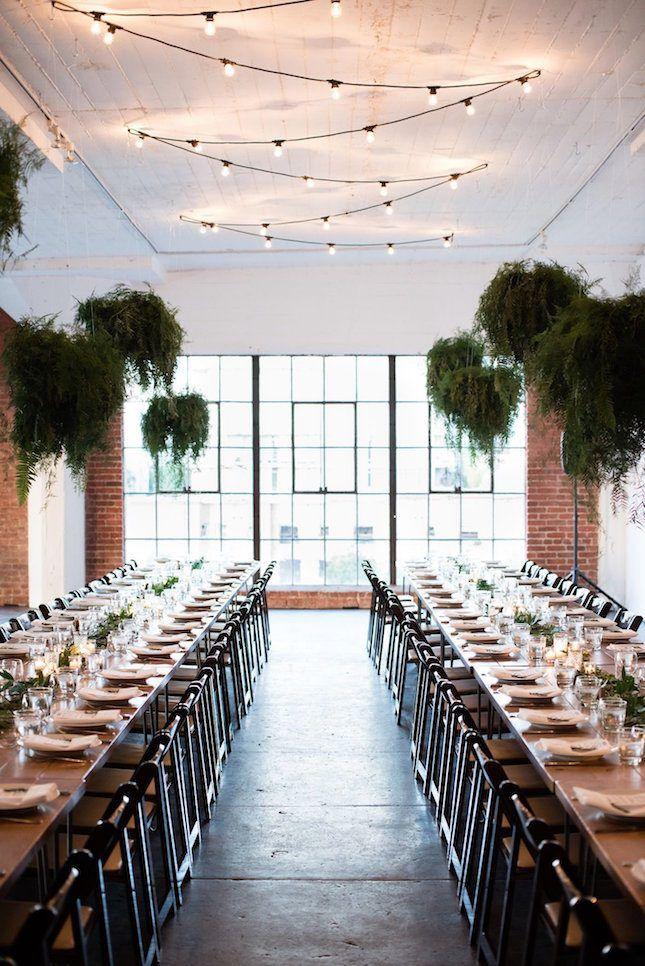 16 Industrial Inspired Wedding Ideas for the Modern