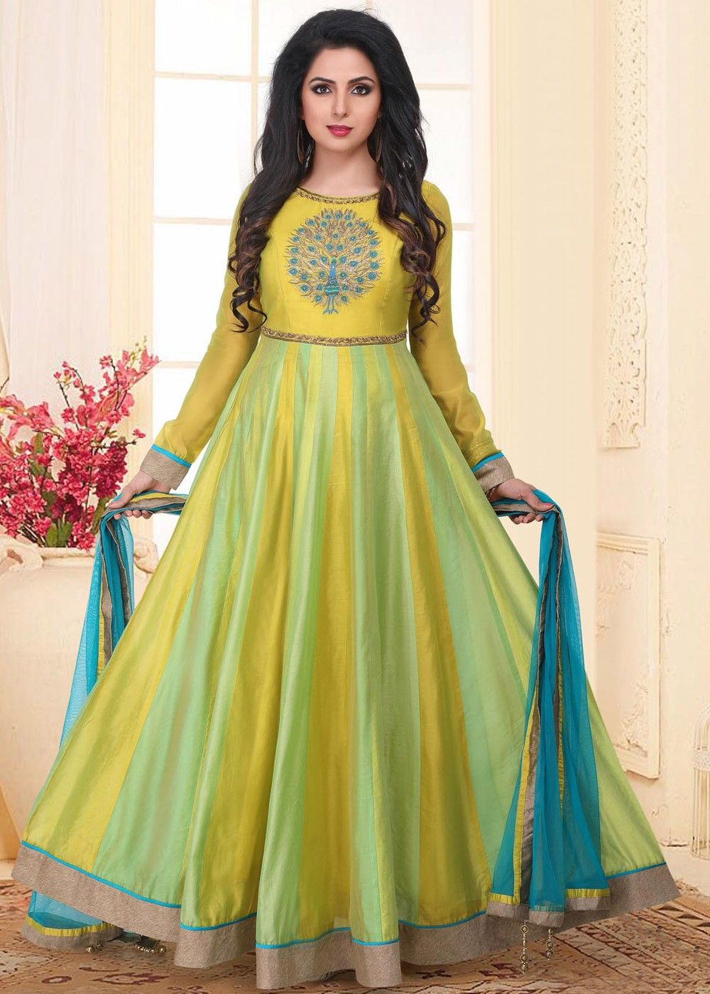 b641eb854ab8 #salwarkameez #silksalwar #Yellowsalwar #Embroideredsalwar #womenfashion # dresses #ladiesfashion #fashiontips