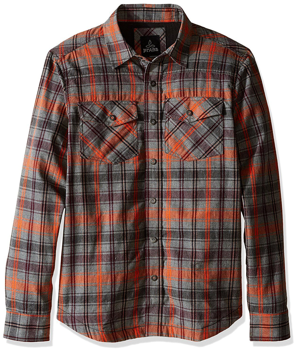 Flannel t shirts  Asylum Flannel TShirt by Prana  Products  Pinterest  Products