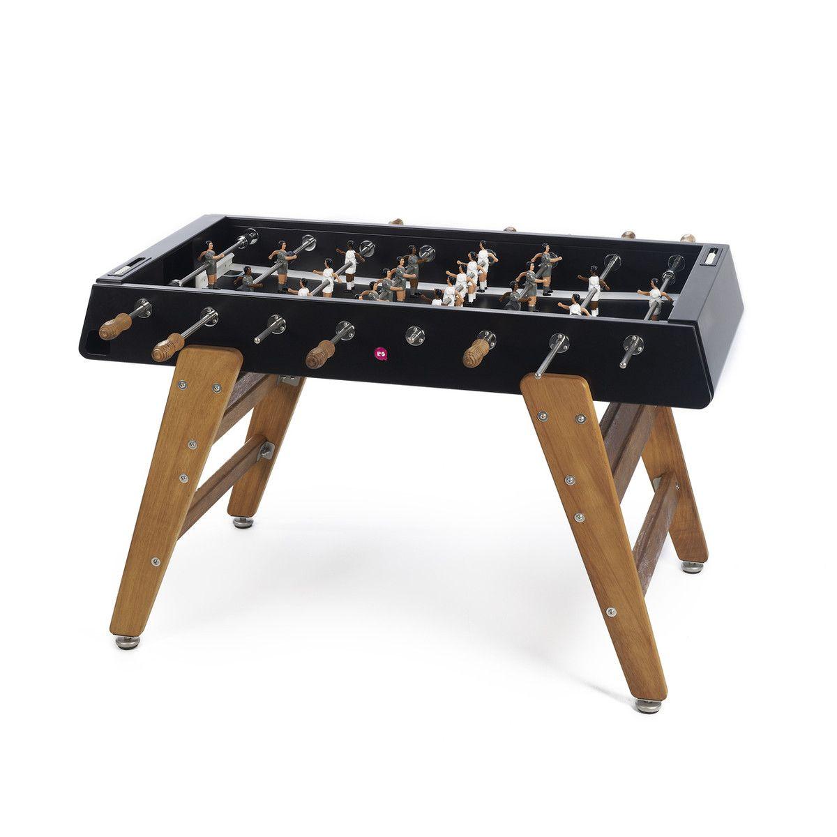 Fab Com Rs 3 Football Table Wood Black Outdoor Foosball Table