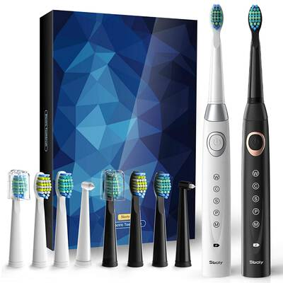 Top 10 Best Electric Toothbrushes in Reviews | Sonic electric toothbrush,  Power toothbrush, Rechargeable toothbrush