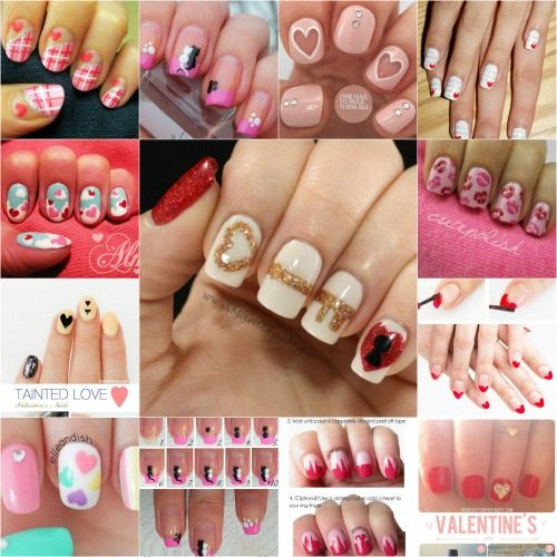 20 Ridiculously Cute Valentine's Day Nail Art Designs - 20 Ridiculously Cute Valentine's Day Nail Art Designs Coffin