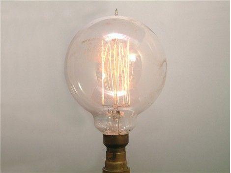 vintage light bulb osram ca1920 - Antique Light Bulbs
