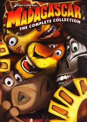Lootcoza DVD Madagascar Trilogy Madagascar 1 2 3 DVD