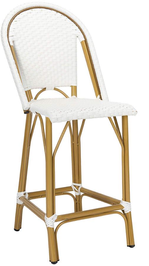 Admirable Safavieh Gresley Indoor Outdoor French Bistro Counter Stool Machost Co Dining Chair Design Ideas Machostcouk