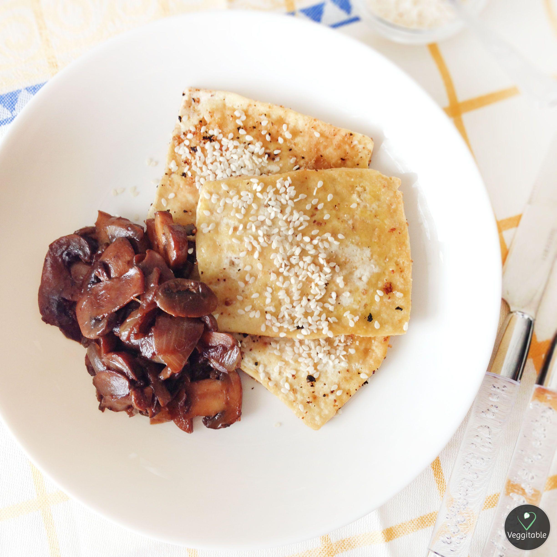 Tofu com Cogumelos | Tofu with Mushrooms | -- Visit Site for Recipe --