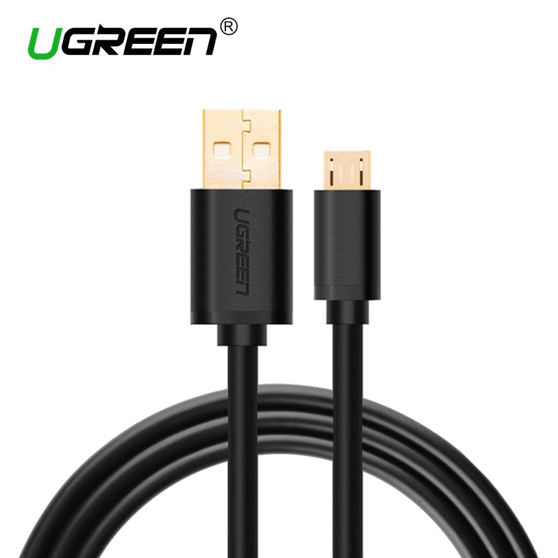 Mobile Phone Cables 1 Ugreen Micro Usb Cable 5v2a Micro Usb Charge Cable 1m 2m 3m Fast Data Sync Charger Cable For Samsung Galax Micro Usb Micro Usb Cable Usb