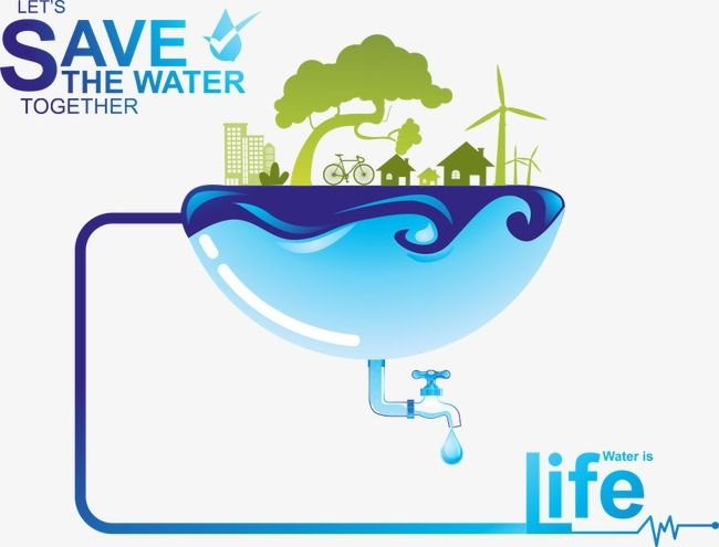 365 Free Cliparts   Water conservation, Water poster, Save water poster
