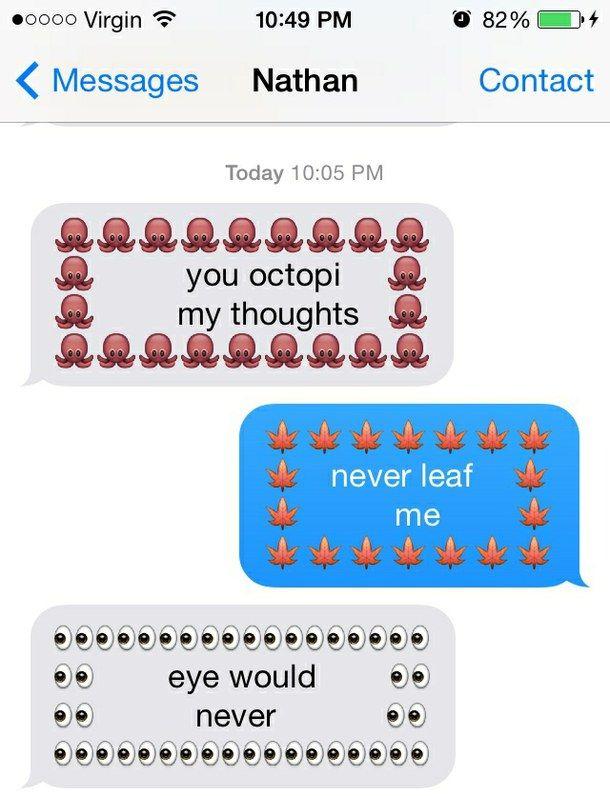 Funny Emoji Food Emoji Puns Emoji Texts Cute Emoji Texts Emoji Puns