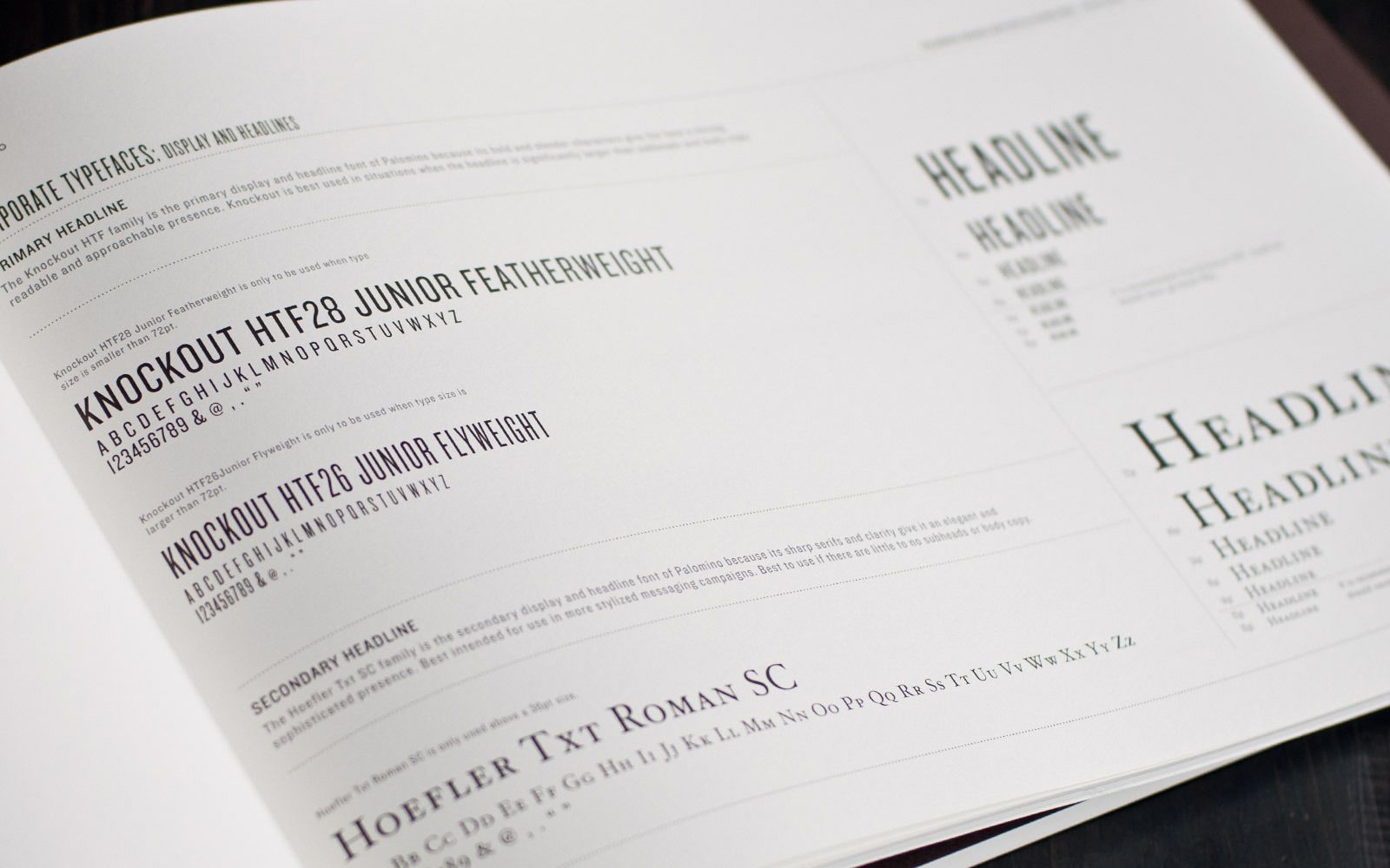 Palomino Restaurant Brand Guidelines Superbig Creative Brand Book Brand Guidelines Style Guide Design