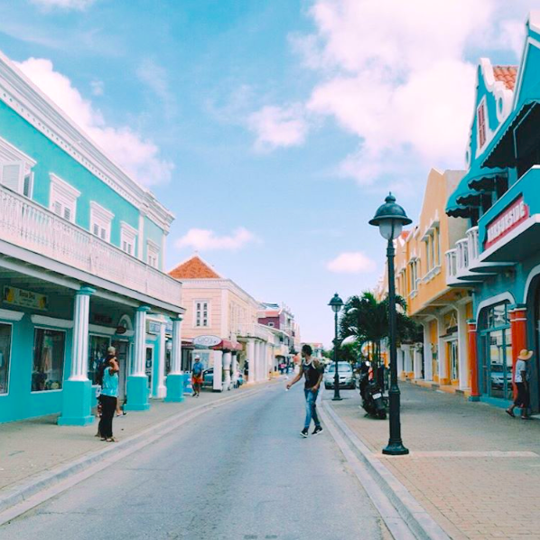 Take a break from the beach and flock to Kralendijk, the colorful capital of #Bonaire, where you can stroll the streets to enjoy works of local artists and indulge in a number of creative cuisines. #Bonaire Photo by victorialoughlin101