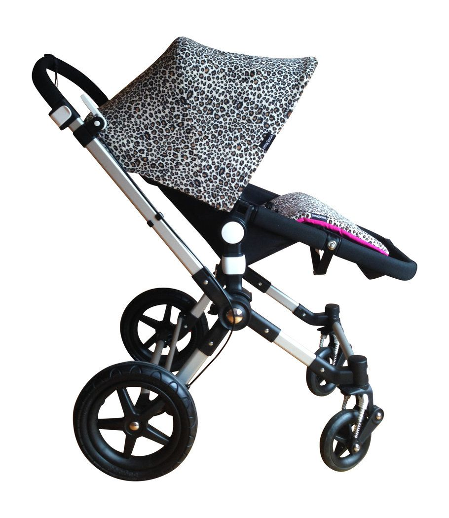 emaSema Bugaboo Leopard Minky Hood Available in regular