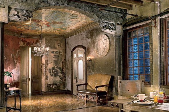 4 Magnificent Ceiling Wall Murals Gerard Butler House Image