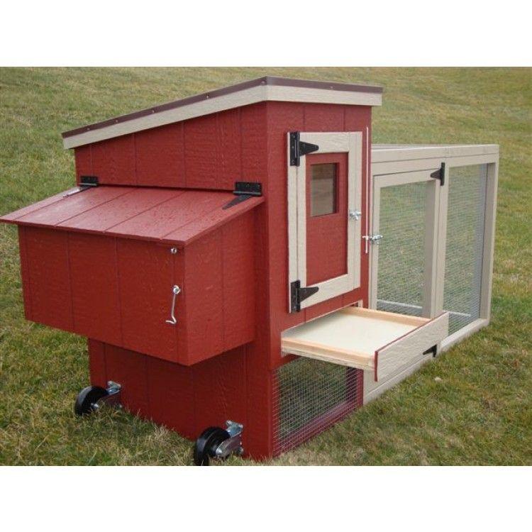 Amish EZ Fit Miniature Chicken Coop Kit