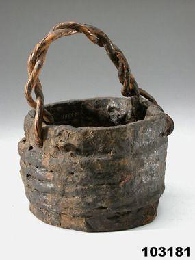 Tar pot, 1645