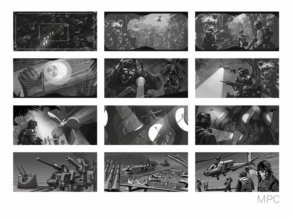 portfolio u2014 MPC Concept Art Storyboards Pinterest Concept - photography storyboard