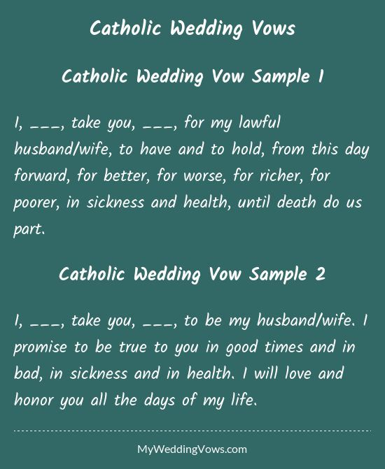 Traditional Wedding Vows Best Photos