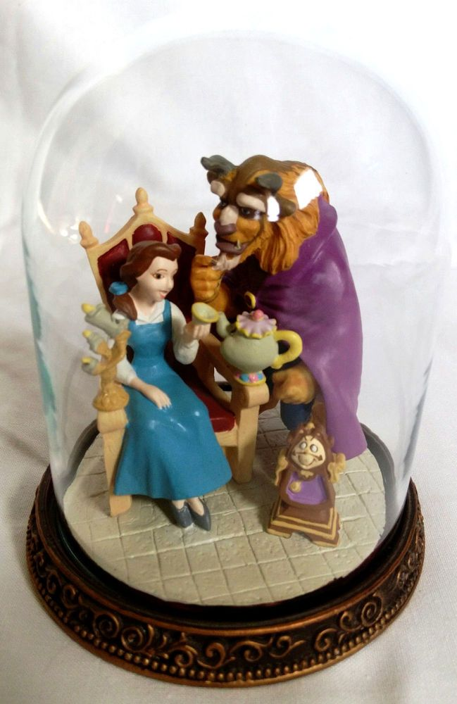 Beauty And The Beast Collectibles >> Disney S Beauty And The Beast Collectible Figurine Dome Statue