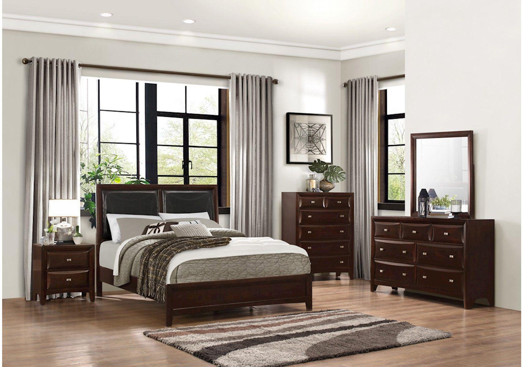 Lacks | Avalon 4-Pc Queen Bedroom Set | Bachelor Pad | Pinterest ...