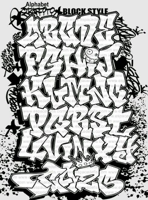 Letras Grafitti