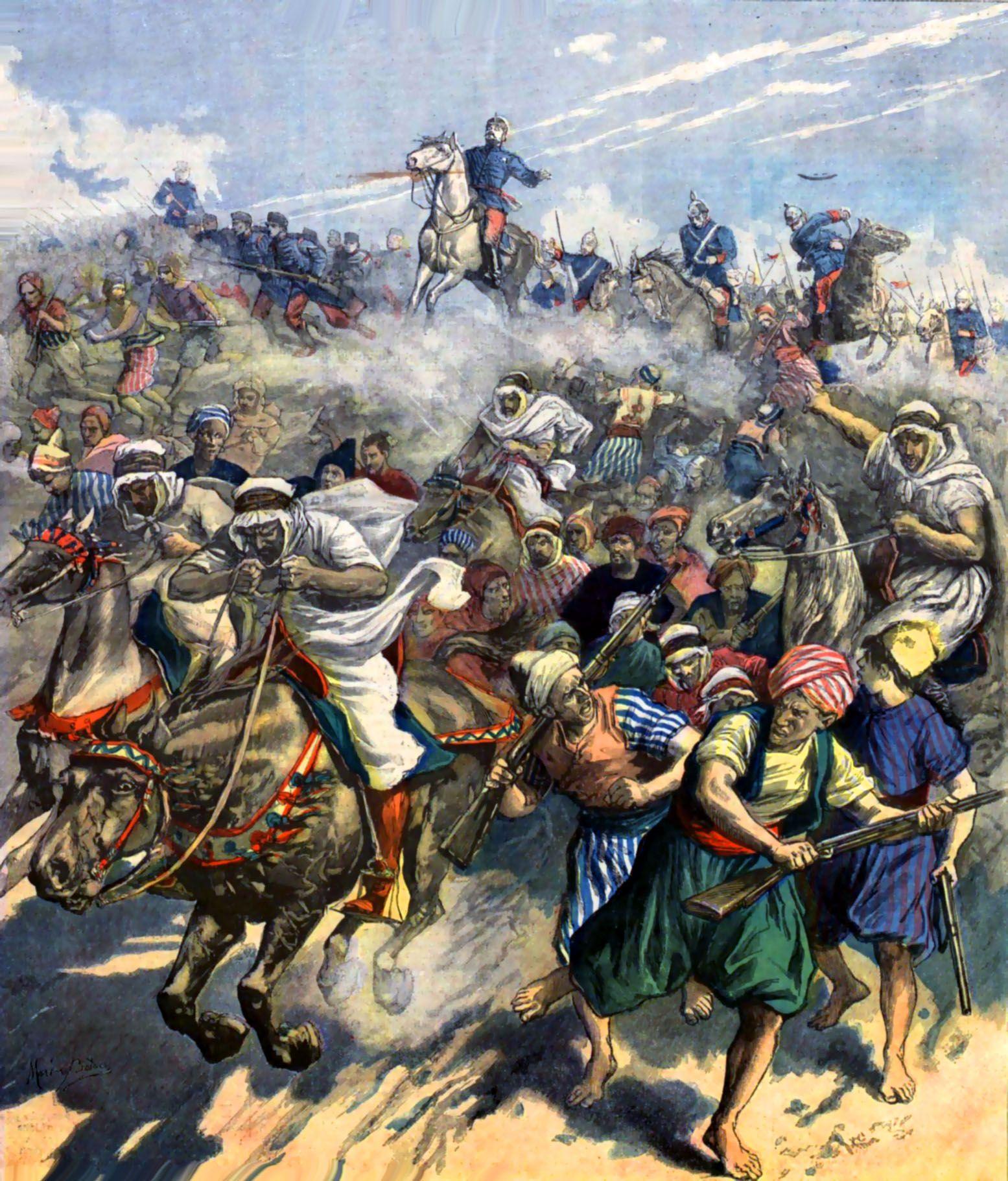 Death Of Spanish General Margallo During The Melilla War, Morocco