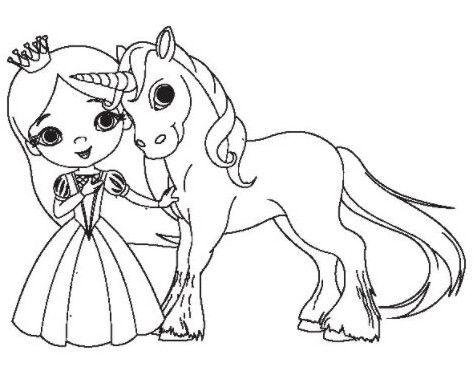 imagenes de unicornios para colorear | Colorear | Pinterest ...