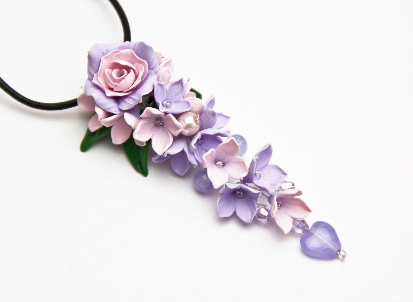 This Item Is Unavailable Etsy Floral Pendant Necklace Flower Jewellery Flower Pendant