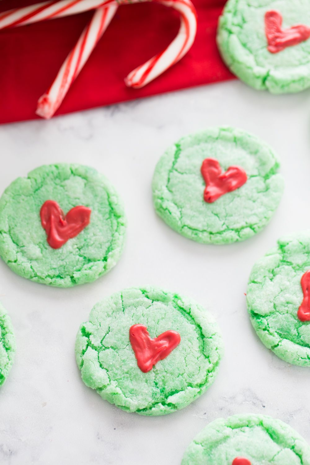 Grinch Cookies Recipe Grinch cookies, Christmas