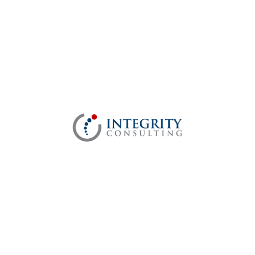 Integrity Consulting Simple Clean Logo For It Professional Services Company Professional Services For Information Cleaning Logo Modern Logo Logo Inspiration