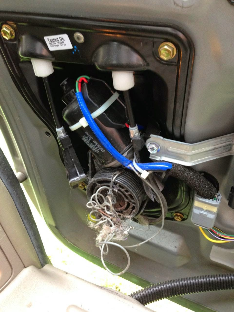 hight resolution of how to replace the power sliding door cables on a 2004 2010 toyota sienna xle john fixes stuff
