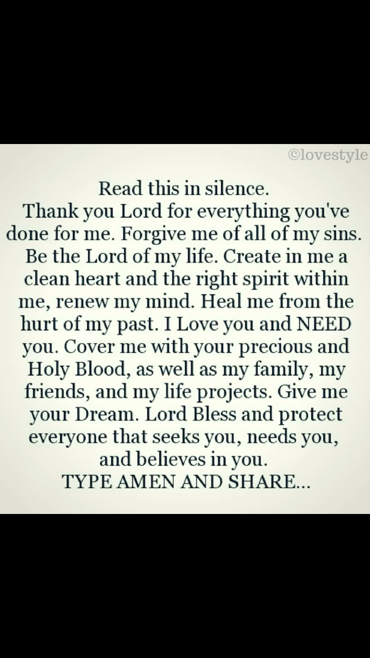 AMEN.  Thank you Lord Jesus Christ.  Praise the Lord!