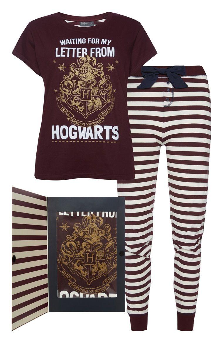 Primark Harry Potter Pj Set Gift Box Harry Potter Kleidung Harry Potter Mode Schlafanzug Fur Kinder
