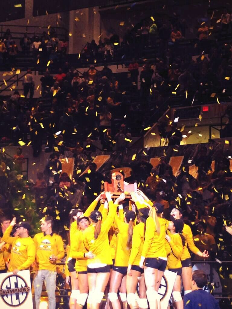 Mizzou Volleyball Secchampions Mizzou Mizzou Tigers Volleyball