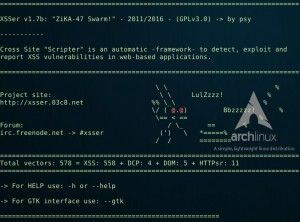 xsser v1 7b – is an automatic -framework- to detect, exploit