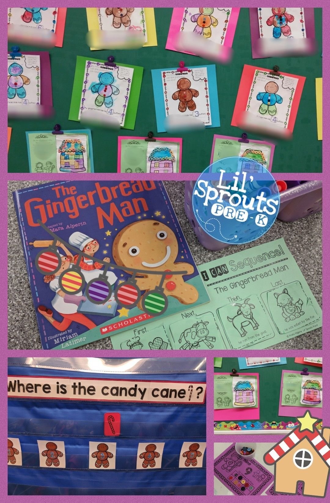 Gingerbread Unit For Little Learners