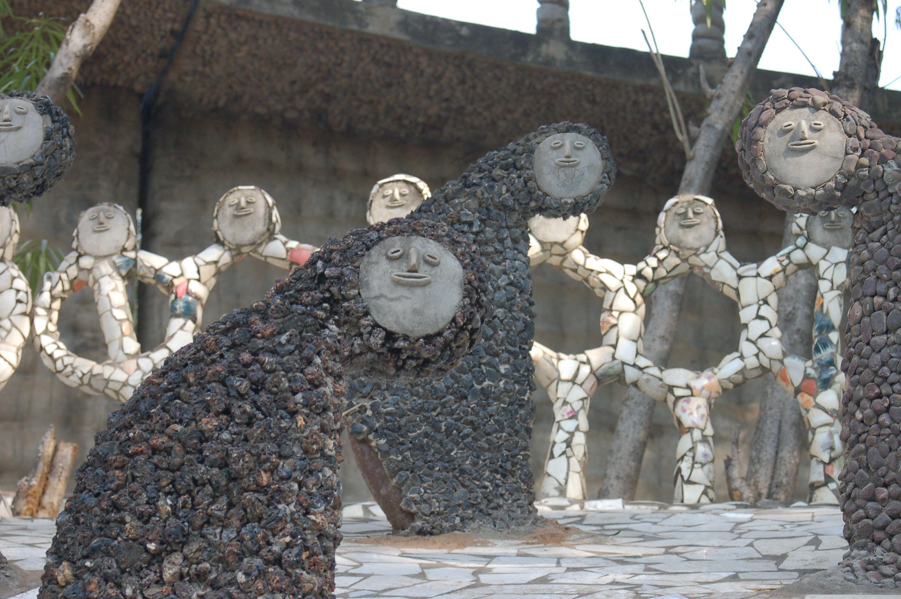 Public Art Public Art Rock Garden Garden Statues