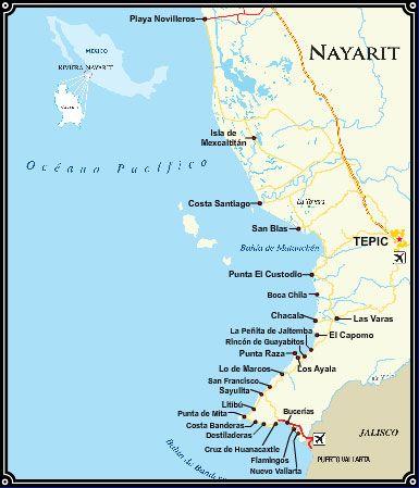 Sayulita Mexico Map Google.Playa Platanitos Google Search My Birth Town Nayarit Mexico