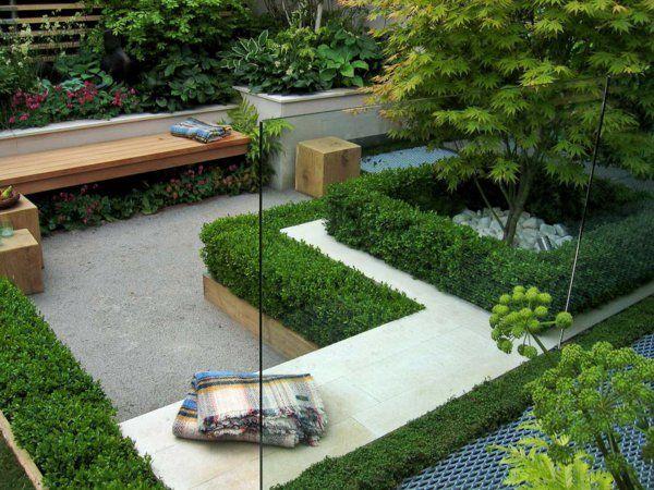 50 Moderne Gartengestaltung Ideen: 50 Moderne Gartengestaltung