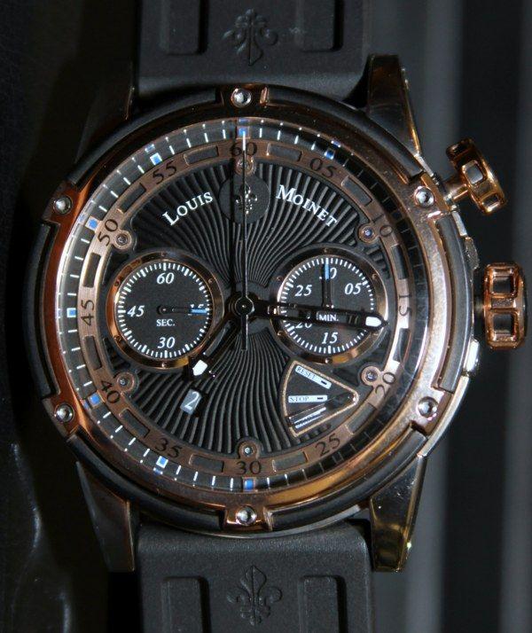 Louis Moinet Jules Verne Instrument III Watch