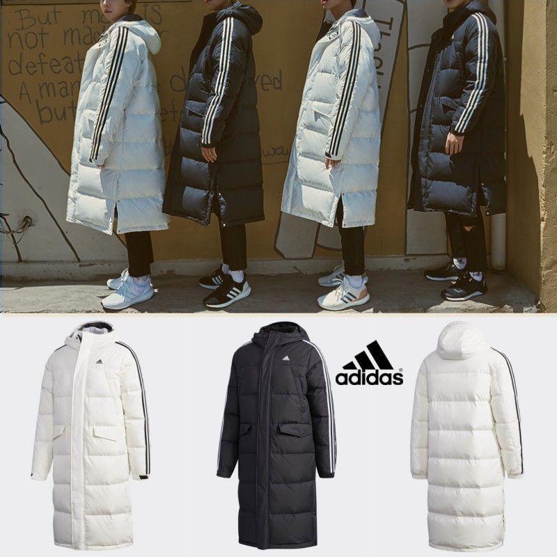 0ea250636a4d Adidas 3STR Winter Hooded Down Jacket Black White DT7921 DT7920 (eBay Link)