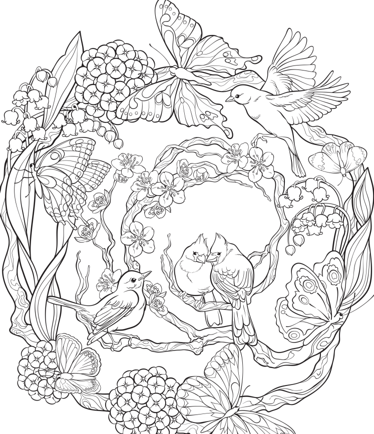 Free Online Coloring Books Designs Trend