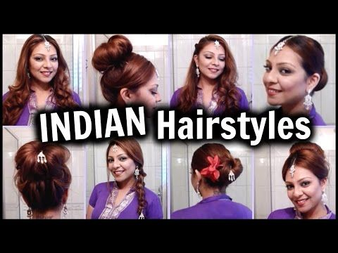 Indian Hairstyle Tutorials For Medium Long And Short Hair - Classic hairstyle tutorials