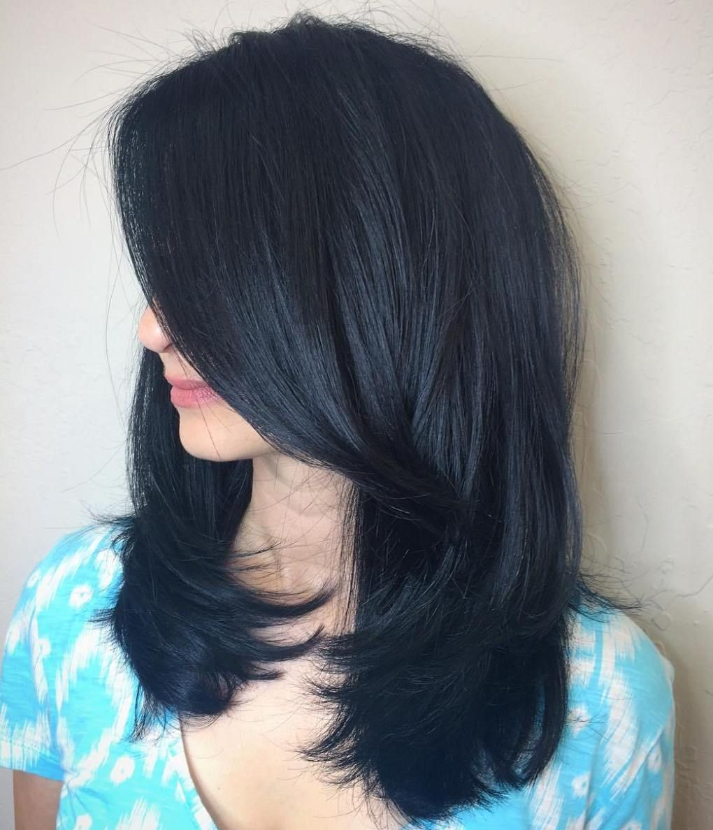 Blue Black Hair How To Get It Right Hairstyles Pinterest