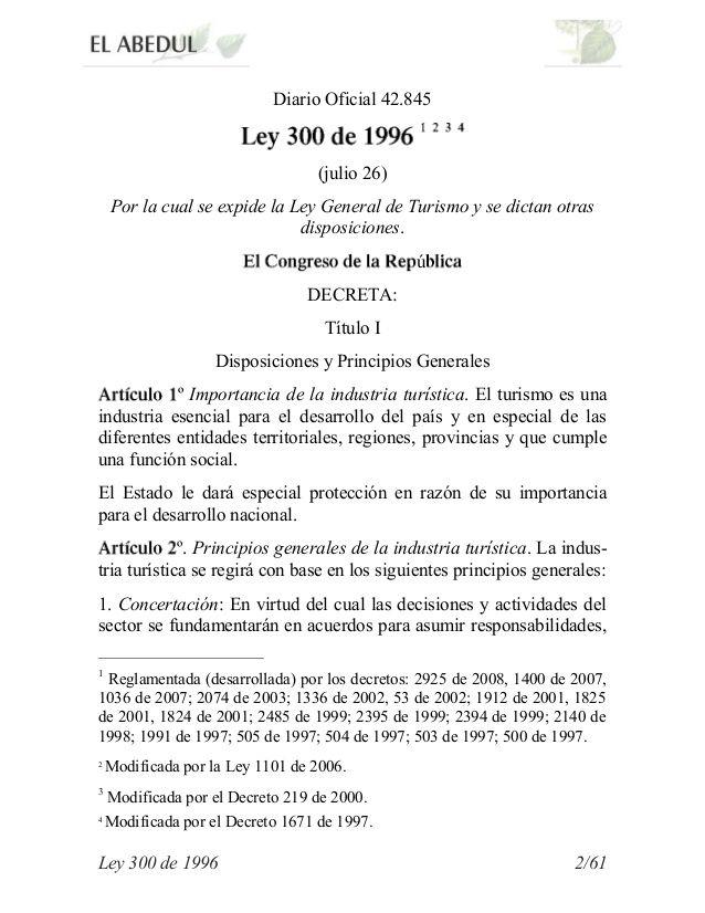 Ley 300