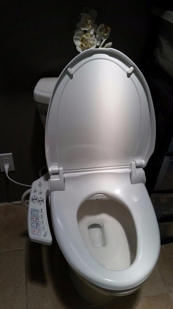 Superb Bio Bidet Ultimate Bb 600 Advanced Bidet Toilet Seat Round Machost Co Dining Chair Design Ideas Machostcouk
