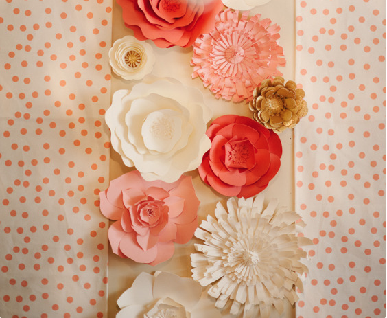 Paper flowers for weddings events home decor diy templates and pre paper flowers for weddings events home decor diy templates and pre cut kits mightylinksfo
