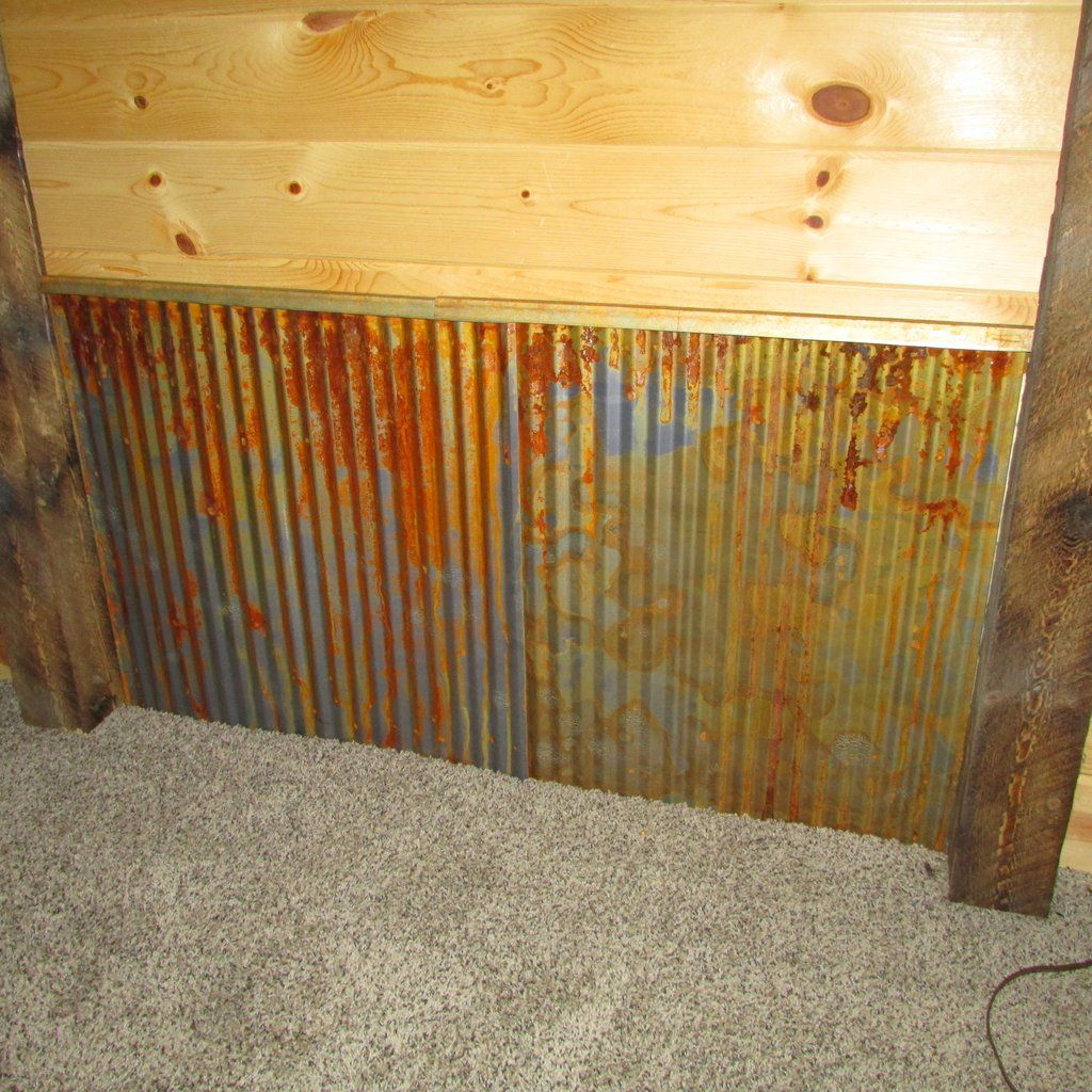 Corrugated Metal Wainscoting Metal Wall Panel Rustic Wainscoting Corrugated Metal Wall