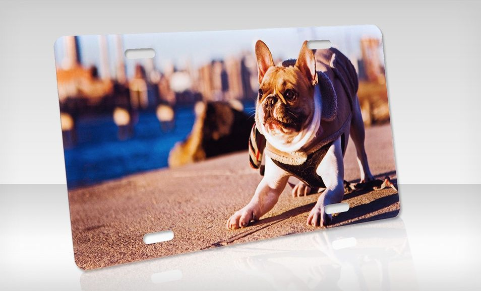 Groupon - $ 12.99 for a Customizable License Plate from Aluminyze ($ 24.95 List Price). Free Shipping.. Groupon deal price: $12.99